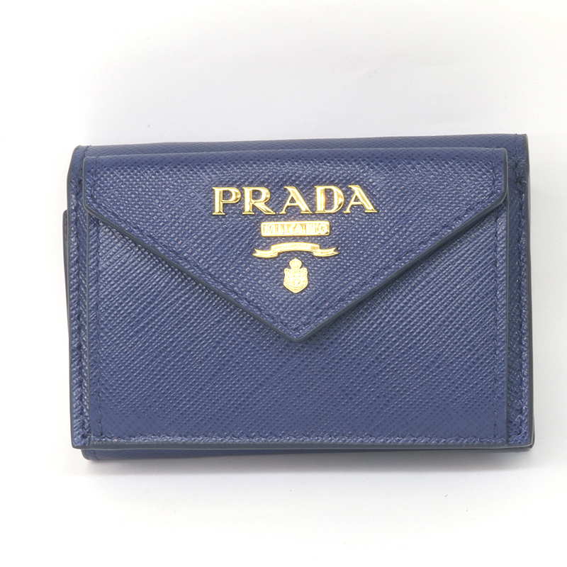 サフィアーノレザー 1三つ折り コンパクト 財布 1MH021_QWA_F0016