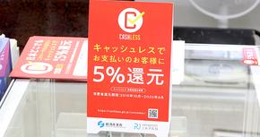 キャッシュレス5%還元対象店